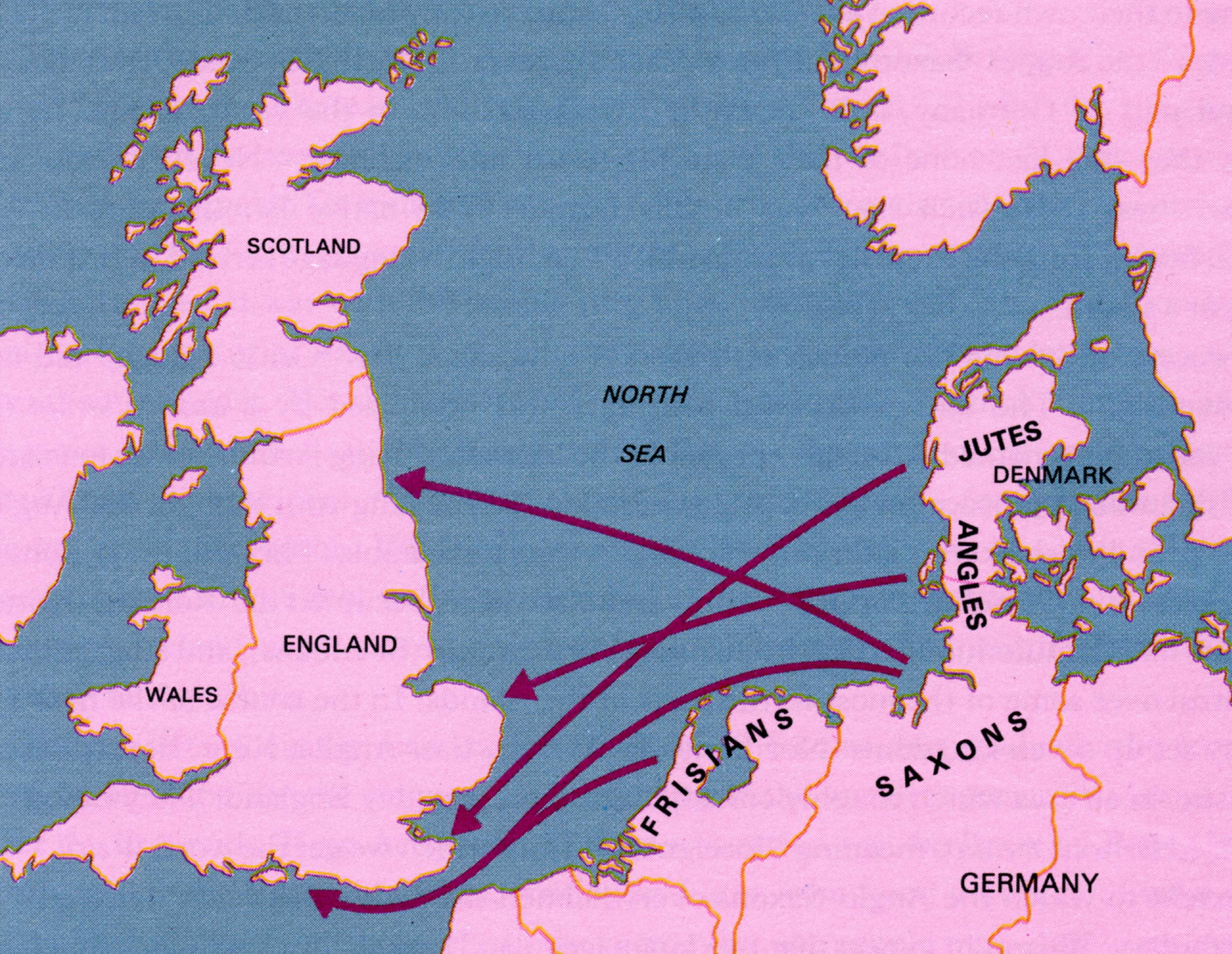 Indo-European migration into Britain